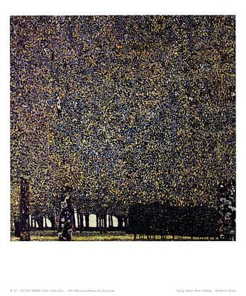 Gustav Klimt Park, 1910 (K 41)