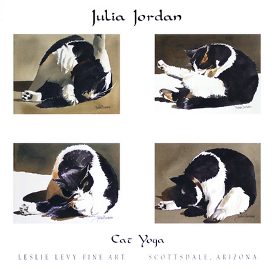 Julia Jordan Cat Yoga