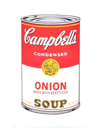 Andy Warhol Campbells Soup Onion