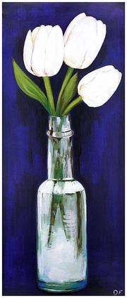 Bekannt nicht tulpen weiss blau large