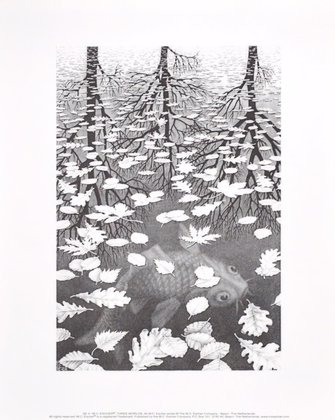 MC Escher Drei Welten