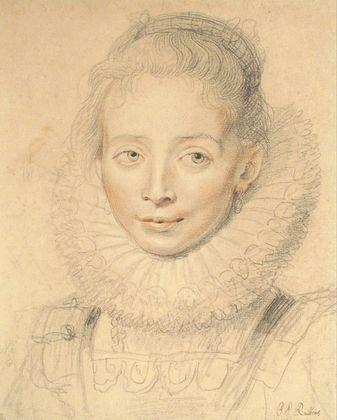 Peter Paul Rubens Hofdame der Infantin