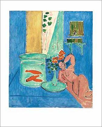 Henri Matisse Poissons rouges et sculpture