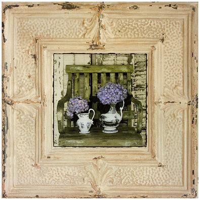 Christin Atria 4er Set 'Country Hydrangeas' + 'Country Daisies' + 'Mediterranean Lavender' + 'Mediterranean Sunflower'