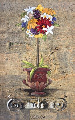 Celeste Peters Corinthian Floral I
