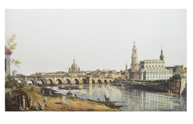 Antonio Canaletto Dresden Elbufer