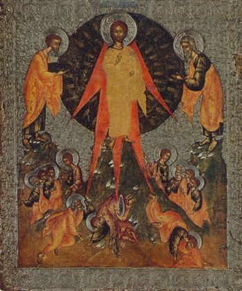 Ikone Russisch Verklaerung Christi