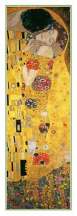 Gustav Klimt Der Kuss ( Detail 25x70cm )
