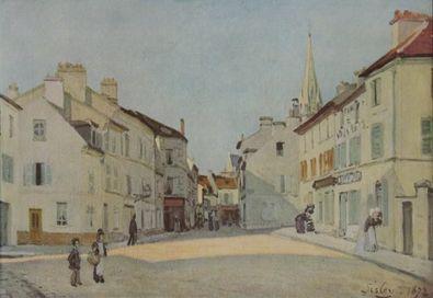 Alfred Sisley Kleiner Platz in Argenteuil