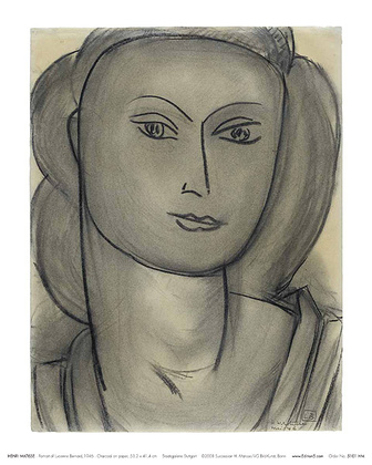 Henri Matisse Madame L.B. (Lucienne Bernard)