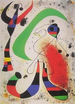 Joan Miro La Nuit