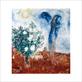 Chagall marc die liebenden ueber st paul medium