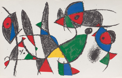 Joan Miro Volume 2 Blatt 9
