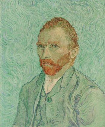 Vincent van Gogh Selbstportrait   1890 (das bekannte)
