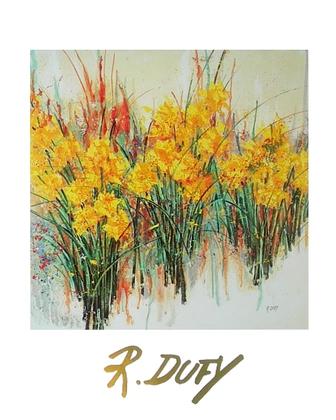 Raoul Dufy gelbe Blumen
