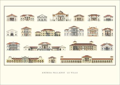Andrea Palladio Le Ville