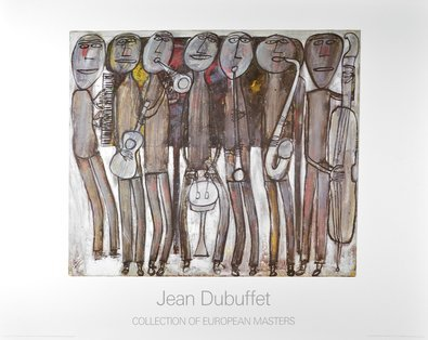 Jean Dubuffet Jazzband New Orleans