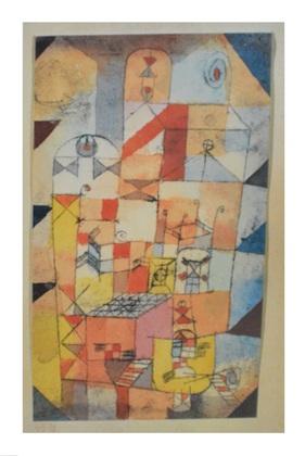 Paul Klee Haus-Inneres 1919