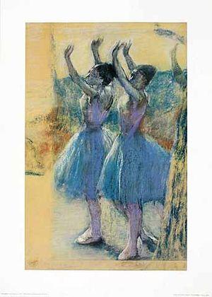 Edgar Degas Zwei Taenzerinnen, um 1900