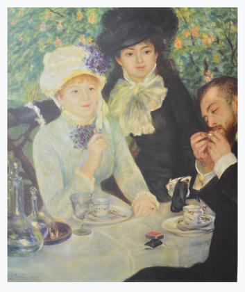 Pierre Auguste Renoir Le Dejeuner