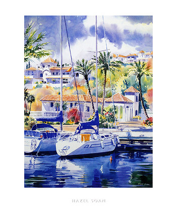 Soan Hazel 2er Set 'The Marina' + 'Sunlit Quay'