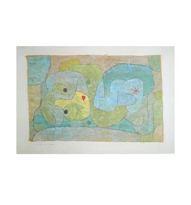 Paul Klee Nymphe im Gemuesegarten