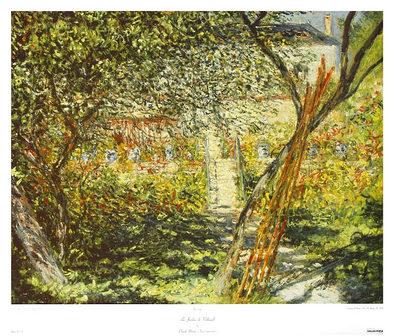 Claude Monet Le Jardin de Vetheuil