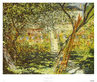Monet claude le jardin de vetheuil medium