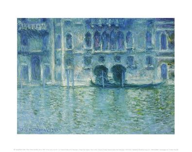 Claude Monet Palazzo da Mula - Venice, 1908