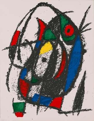 Joan Miro Volume 2 Blatt 4a unsigniert