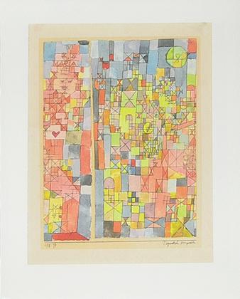 Paul Klee Dogmatische Komposition