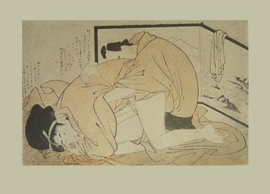 Kitagawa Utamaro Erotische Holzschnitte IV