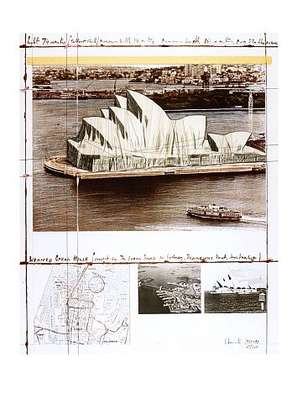 Christo Wrapped Opera House (Sydney)