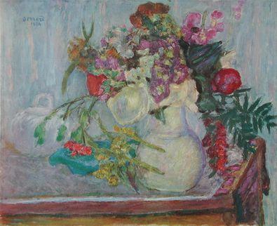 Pierre Bonnard Violetter Blumenstrauss