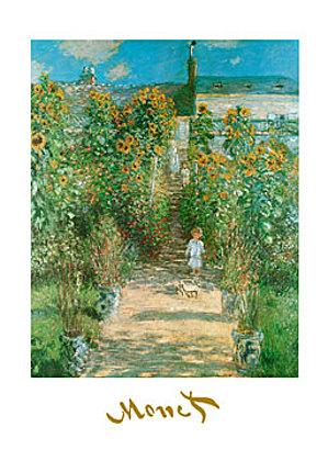 Claude Monet Il giardino e la casa