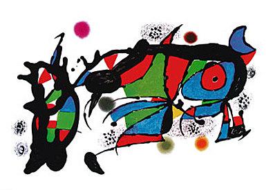 Joan Miro Obra de Joan Miro