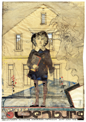 Horst Janssen Plakate Oldenburg