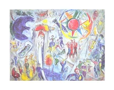Marc Chagall La Vie (1964)