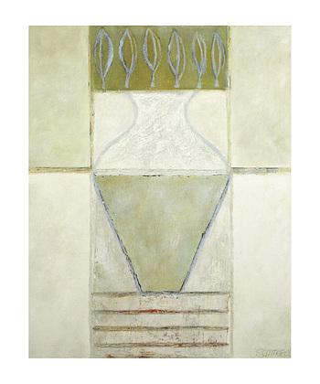 Juliane Sommer 2er Set 'Big Vase and Leaves' + 'Flowers of Straw'