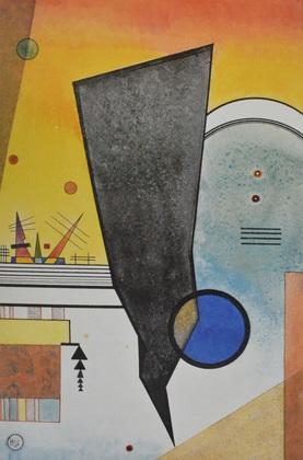 Wassily Kandinsky Gebogene Spitze