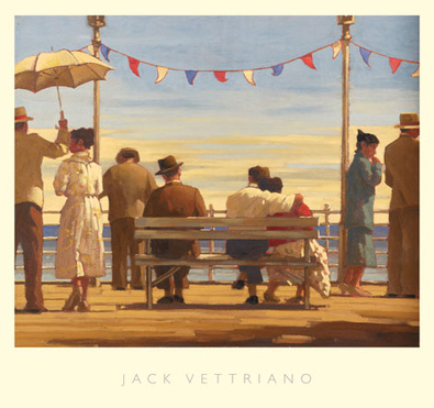Jack Vettriano The Pier