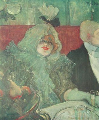 Henri Toulouse-Lautrec Im Separee