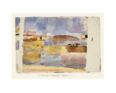 Paul Klee vor den Toren Kairuan, 1914