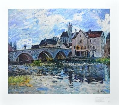 Alfred Sisley Die Bruecke von Moret