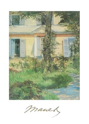 Edouard Manet Casa a Rueil