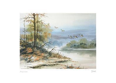 J. Verret Riva di fiume
