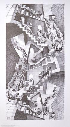 MC Escher Treppenhaus