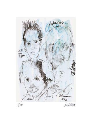 Armin Mueller Stahl Adorno, Wittgenstein, Kant, Blumenberg