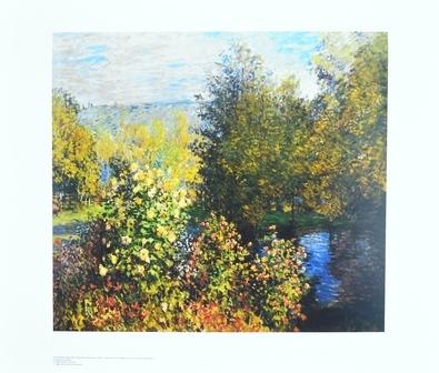 Claude Monet Gartenecke in Montgeron