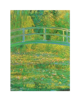 Claude Monet Seerosenteich mit japanischer Bruecke